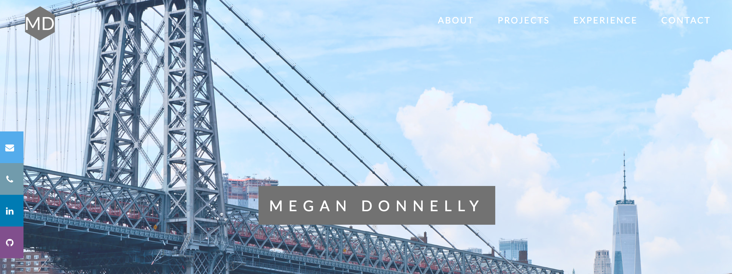 Megan Donnelly portfolio site