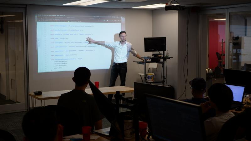 Gabriel Lebec Teaching at Fullstack Academy