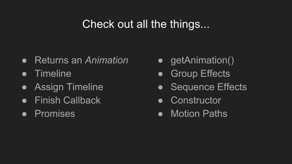 How and when to use the Web Animation API | Fullstack Academy