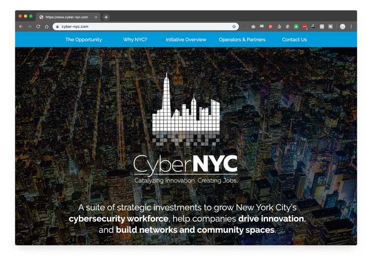 CyberNYC Homepage
