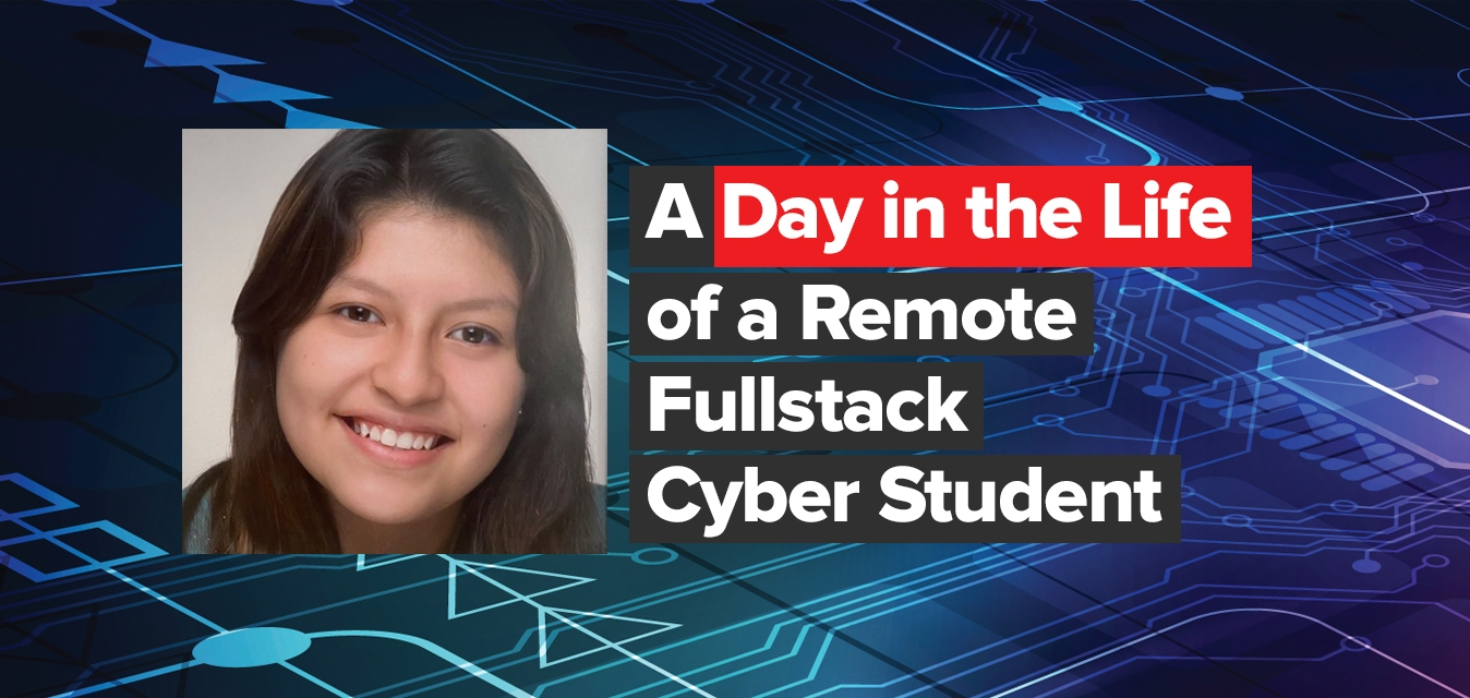 Day In The Life Of Remote Cyber Student