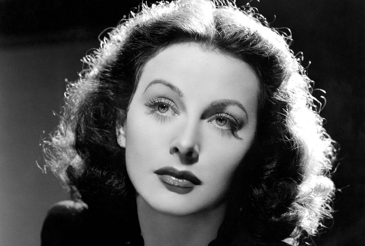 Headshot of Hedy Lamarr, a surprising entry on our list of women programmers