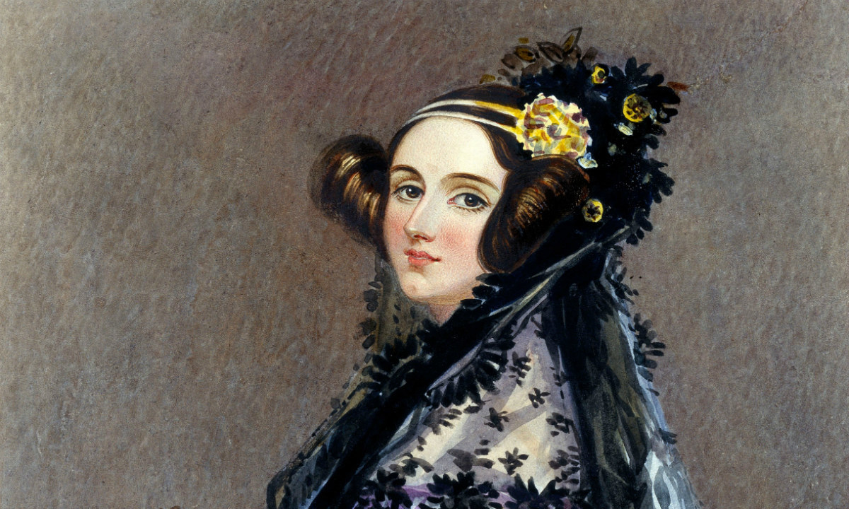 Painting of Ada Lovelace, another surprising entry in our list of influential women programmers