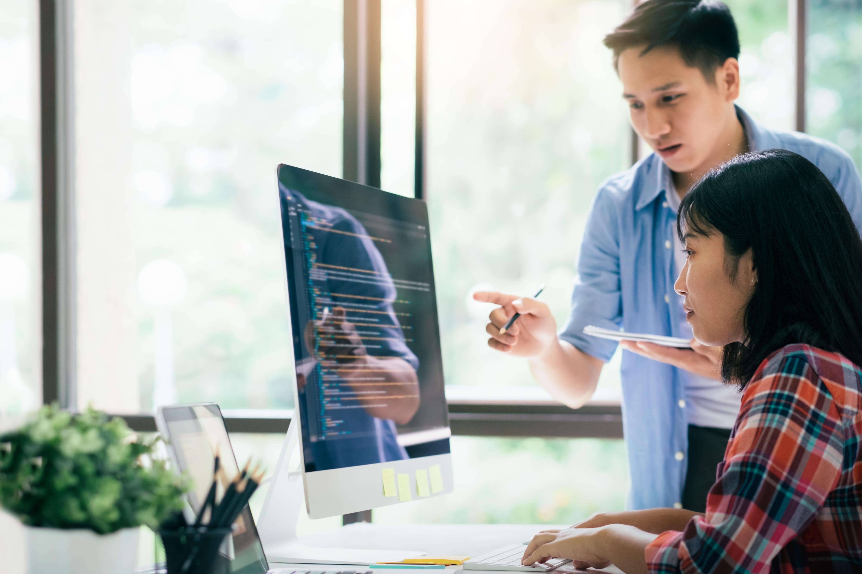 Software Engineers Pair Programming