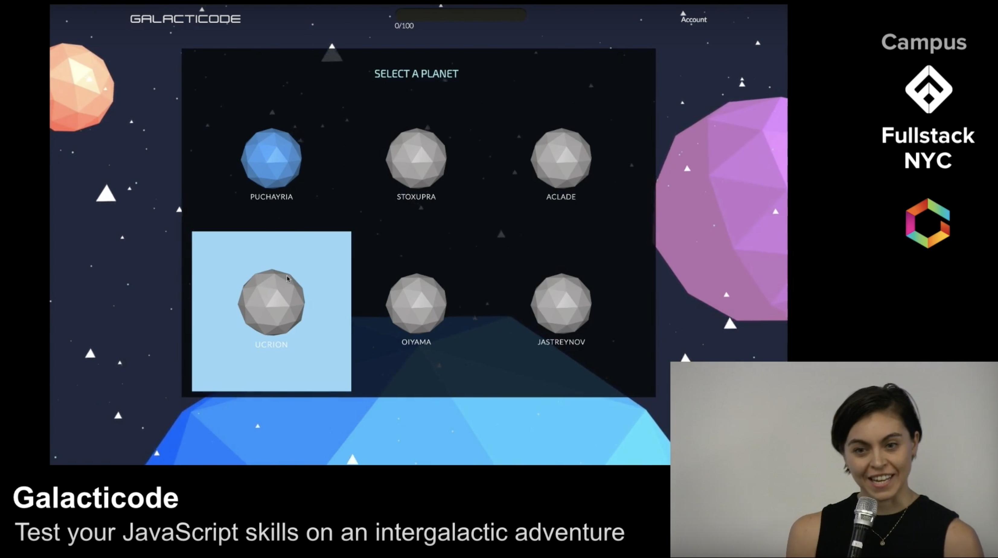 Galacticode | Fullstack Academy